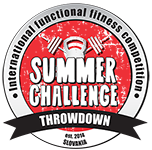 SUMMER CHALLENGE THROWDOWN 2020 logo